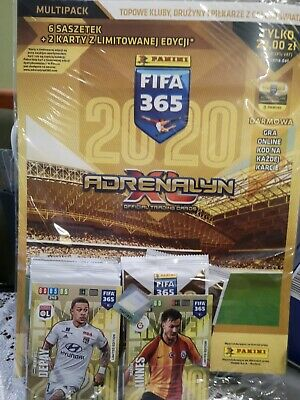 FIFA 365 2020 Adrenalyn XL MULTIPACK 6 booster 2 Limited Edition
