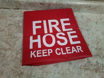 Moon American 132-5 34 In H 4 In H 34 in L Vinyl/Nylon Red Fire Hose Cover