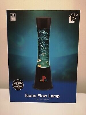 Official Licensed Playstation Icons Lava Flow Lamp Light Lampara Paladone Gift