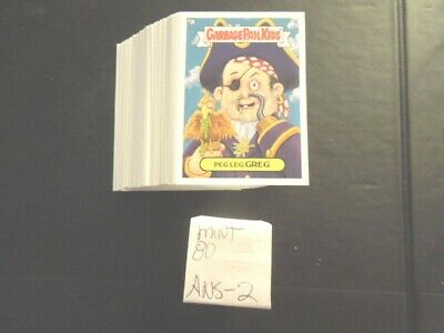 2003 03 Garbage Pail Kids GPK ANS Series 2 Complete Set lot 80 cards Mint