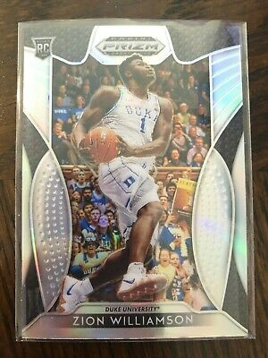 "2019-20 Prizm Draft You Pick ""Silver"" RC Rookie #1-100 Complete Your Set Zion"