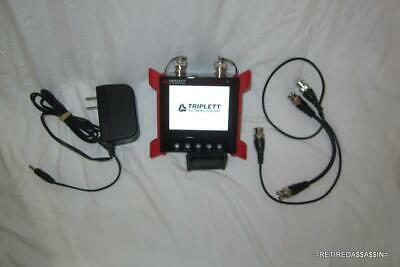 Triplett 8060 Wrist Mountable CamView CCTV Ruggedized Video Test Monitor Coax