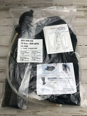 LG Thermo Active 6023 Large Compression Knee Brace W/ Range Of Motion Braces  1A