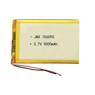 706090 3.7V 5000mAh Lipo Polymer Rechargeable Battery For Power Bank Tablet PC
