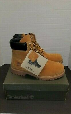 New Men's Timberland 6 Inch Premium Waterproof Workboot 10061 Wheat Nubuck