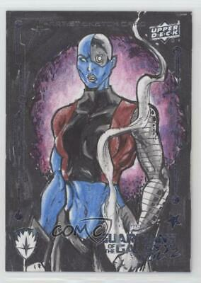 2017 Upper Deck Guardians of the Galaxy Volume 2 Sketch Cards 1/1 Ken Racho 5i7