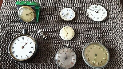 Antique Clock And Pocket Watches Spares And Repairs