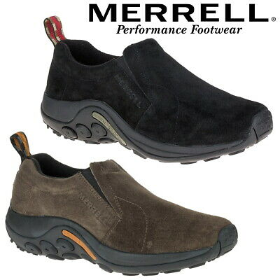 Merrell Jungle Men's Moccasins Suede Leather Loafers ✅ NEXT DAY UK SHIPPING ✅