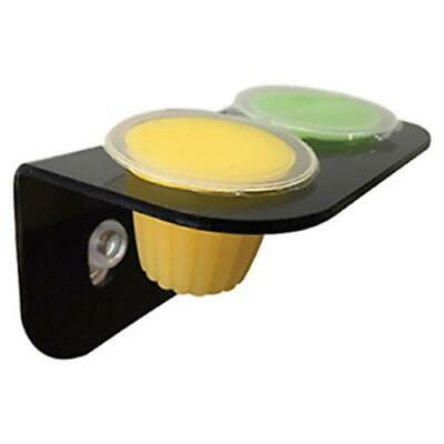 Komodo Twin Jelly Pot Holder Suction Cup Feeder Insect Feeding
