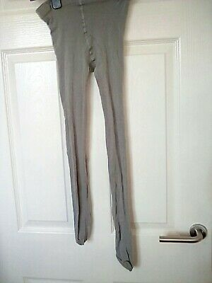 Pale Grey tights  size 4-5 shoe