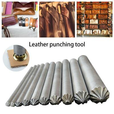 Eyelet Punch Die Tools Kit Leather Craft Plier Grommet Clothing Fabric Banner