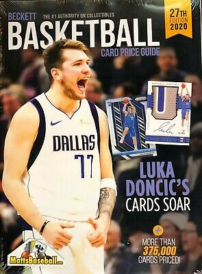 NEW 2020 Beckett Basketball Card Annual Price Guide 27th Edition - LUKA DONCIC
