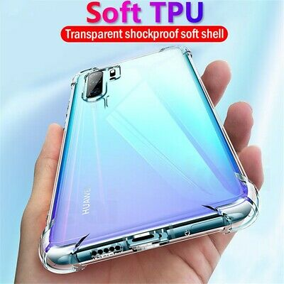 Clear Transparent Silicone Slim Case For Huawei P20 P30 Mate 30 Pro Mate 20 Pro