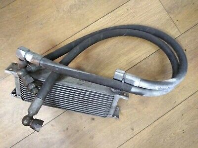 Oil Cooler and Lines Engine Race Track Drift Universal Mocal 13row