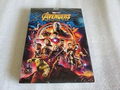 Avengers Infinity War (DVD, 2018) Brand New Free Shipping!