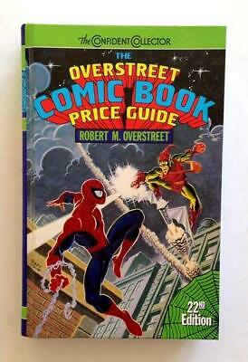 Overstreet Comic Book Price Guide 22nd Edition Hardcover 1992 VF+ Spiderman