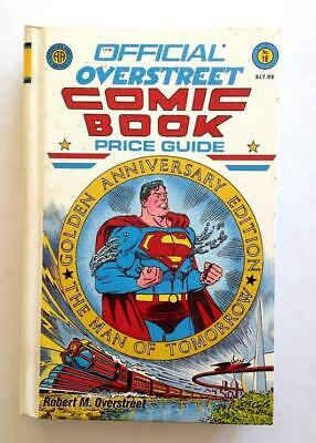 Overstreet Comic Book Price Guide 18th Edition Hardcover 1988 VF Superman Cover