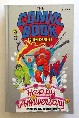 Overstreet Comic Book Price Guide 16th Edition Hardcover 1986 Fine+