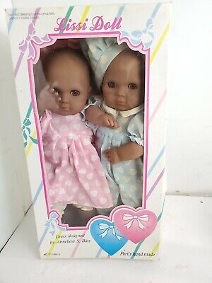 Baby Lissi Dolls Girl Boy 1986 Two Hearts collection!! 3Z5