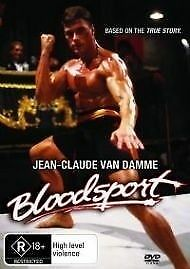 Bloodsport (1988) DVD-Jean-Claude Van Damme-Forest Whitaker-Bolo Yeung
