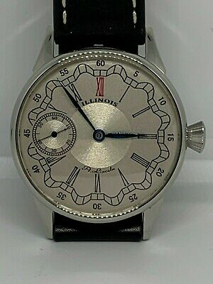 Illinois A Lincoln 12s pocket watch custom conversion to Wristwatch