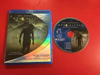 Apocalypto (Blu-ray Disc, 2007) USED *RARE* L@@K OOP