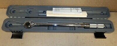 Proto J6068C 1/2-Inch Drive Ratcheting Head Micrometer Torque Wrench,