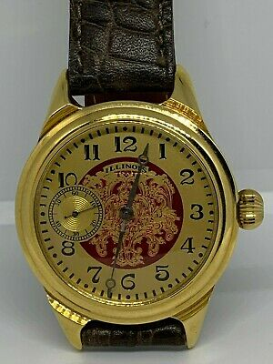 Illinois Marquis 12s grade 525 pocket watch custom conversion to wristwatch