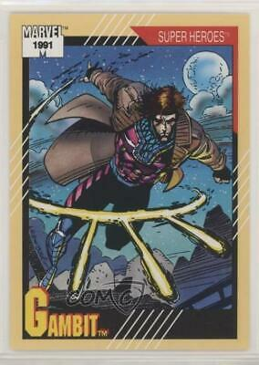 1991 Impel Marvel Universe Series 2 #17 Gambit Non-Sports Card 0w6