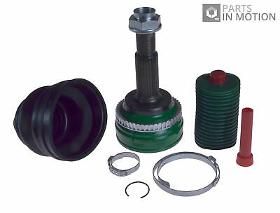 CV Joint Boot Kit fits TOYOTA AVENSIS ADT270 2.0D Front Outer 2008 on 1AD-FTV