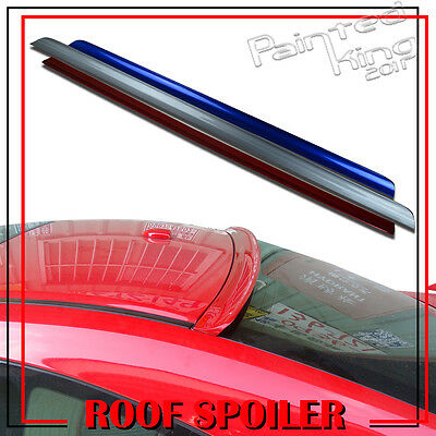 13-15 Painted FOR Honda Accord 9th Rear Roof Lip Spoiler Wing Window Sedan