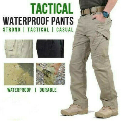 Soldier Tactical Waterproof Pants Men Cargo Pants Combat Hiking Outdoor