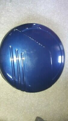 Genuine Honda CRV Spare Wheel Cover Blue. Hard Cover