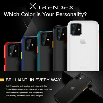 Ultra Hybrid Translucent Matte Shockproof Case Cover For iPhone 11 Pro XS Max XR