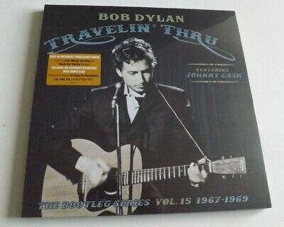 BOB DYLAN 'TRAVELIN' THRU 1967-1969 : BOOTLEG SERIES VOL.15 3 x VINYL LP SEALED