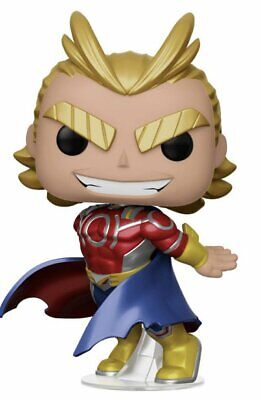 Funko Pop My Hero Academia ALL MIGHT Metallic Special Edition Pre Order Mint
