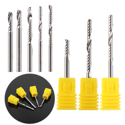 Spiral Machine Tools End Mill Single One Flute CNC Router Bits Milling Cutter