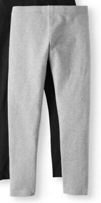 Girls Grey Full Length Leggings Pants Size 6-6X Brand New with Tags NWT