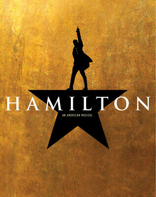 4 Tickets HAMILTON 9/20/20 Pantages Theatre Hollywood Orchestra Last Performance