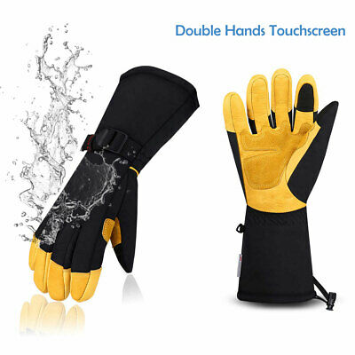 Waterproof Winter Ski Gloves Snow Snowboarding Warm 3M Thinsulate  for Men Women