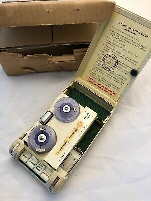 Rare MINIFON Spy PROTANA Wire Recorder P55 Vintage Collectible Made In Germany