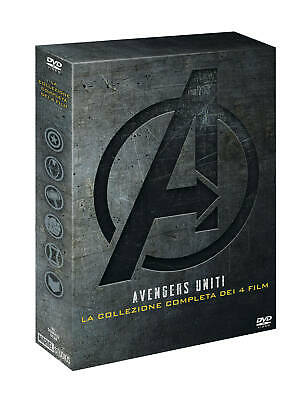 Avengers Collection - Collezione Completa 4 Film (4 Dvd) MARVEL