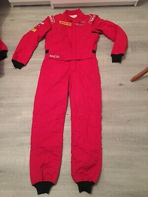 Red SPARCO Race Suit Size 48 FIA 2018