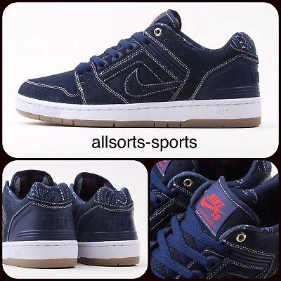 Nike SB Air Force 2 Low QS Schuh (Kevin Bradley) WeissWeiss