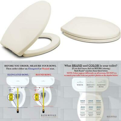 Superb Bath Royale Premium Elongated Toilet Seat With Cover White Forskolin Free Trial Chair Design Images Forskolin Free Trialorg