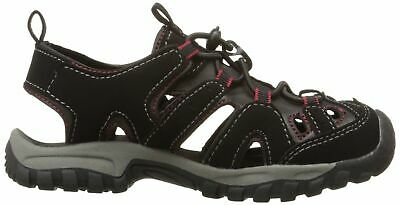 Northside Toddler Boys Burke II Sport Sandal Black Red Size 6 M Bungee