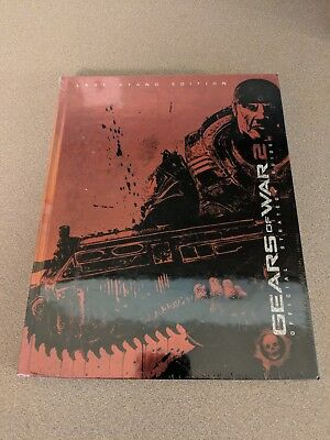 Gears Of War 2 Official Last Stand Edition Brady Games Hc Strategy Guide New