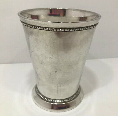 Department 56 Silverplate Mint Julep Cup Made In India