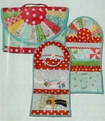 Dresden Project Case - handy sewing accessory PATTERN - Pine Mountain Design