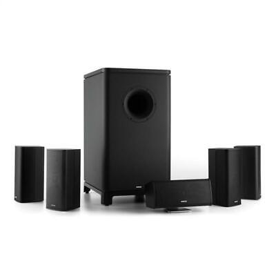 NUMAN Sistema Home Cinema Theater Dolby Surround Casse Altoparlanti 5.1 Woofer